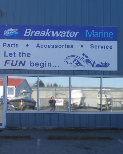 BREAKWATER SERVICE SIGN